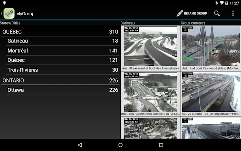 Quebec Traffic Cameras- screenshot thumbnail