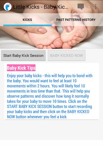 Little Kicks-Baby Kick Counter
