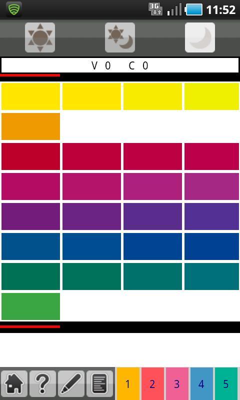Aun Color Coordinate - screenshot