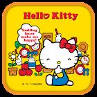 Hello Kitty Happy Face Theme icon