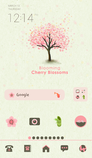 blooming cherry blossoms dodol