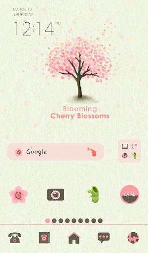 blooming cherry blossoms 도돌 테마