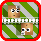 Double cubes icon