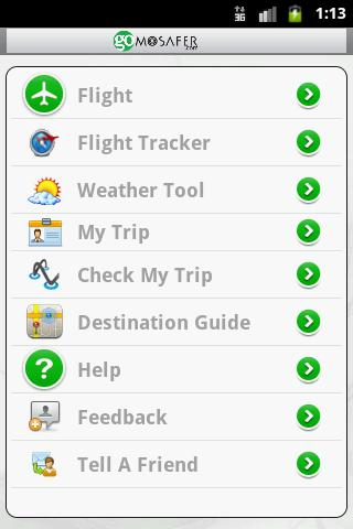 GoMosafer Travel- screenshot