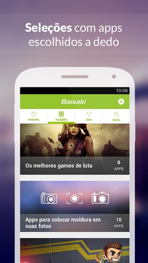 Baixaki- screenshot