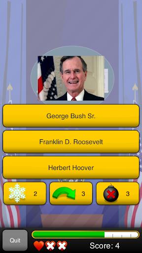 Presidents Quizzer