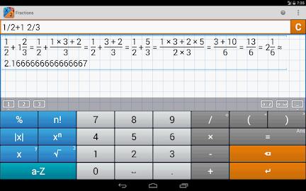 Fraction Calculator MathlabPRO Screenshot 15