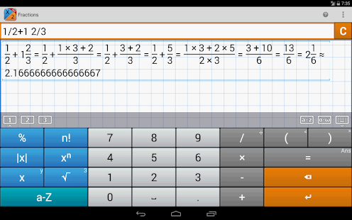 Fraction Calculator MathlabPRO Screenshot 15