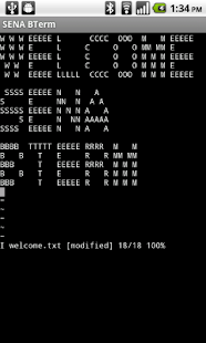 SENA BTerm Bluetooth Terminal- screenshot thumbnail