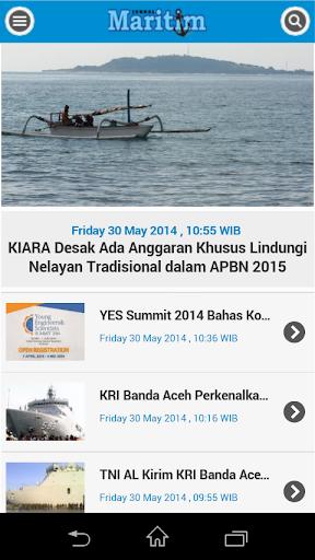 【免費新聞App】Jurnal Maritim-APP點子
