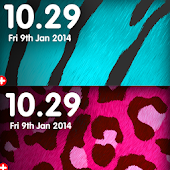 Animal Print Clocks Free