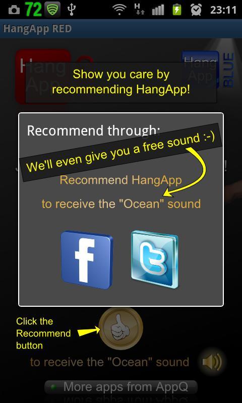 HangApp - screenshot