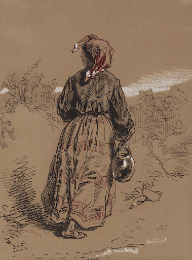 Peasant Woman with Jar