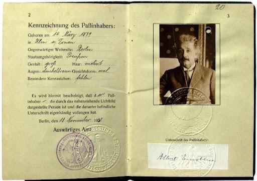 Albert Einstein German, Swiss and American? - Einstein Archives, Hebrew  University of Jerusalem — Google Arts & Culture