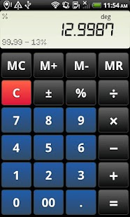 Droid Calc- screenshot thumbnail