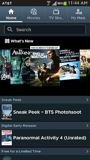 Media Hub Samsung AT T