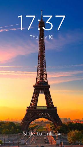 巴黎鐵塔-DIY鎖屏主題