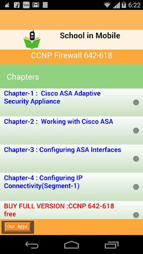 CCNP fánghuǒqiáng 642-618 kǎos