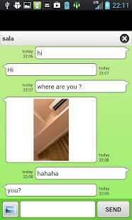 chatroid (random chat) Screenshot 1