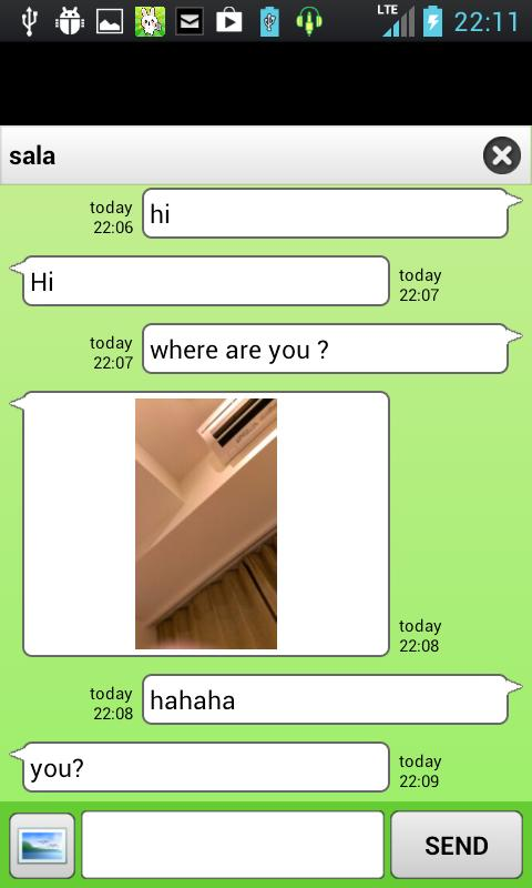 chatroid (random chat) - screenshot