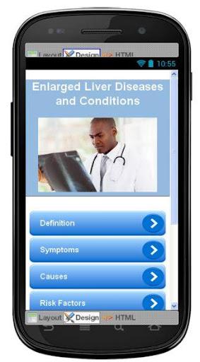 Enlarged Liver Information