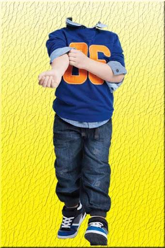 Kids fashion suit style