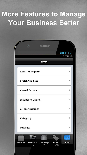 Ofa Smartphone App >> Download Goods Order Inventory System for PC
