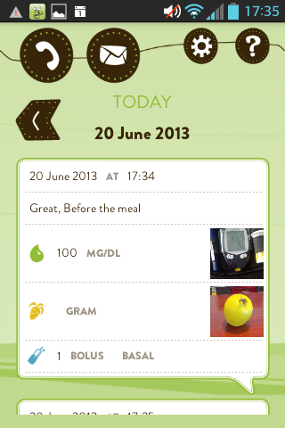 mySugr Junior - screenshot