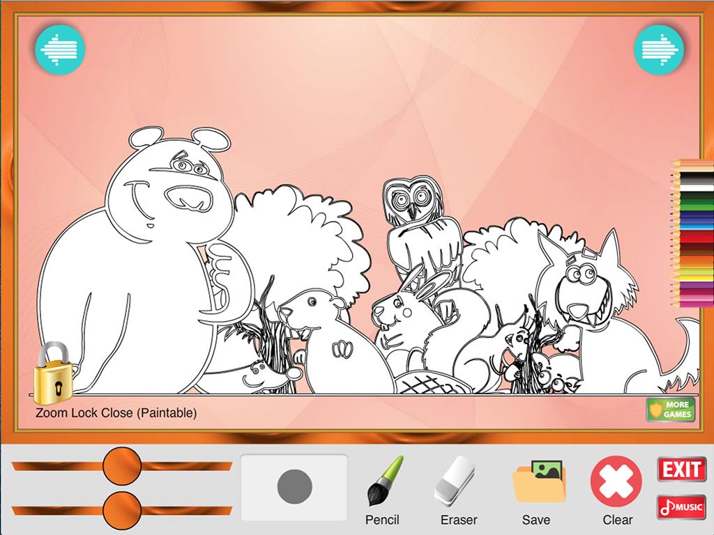Yeni Boyama Oyunu Hayvanlar Screenshot Axipix Foto