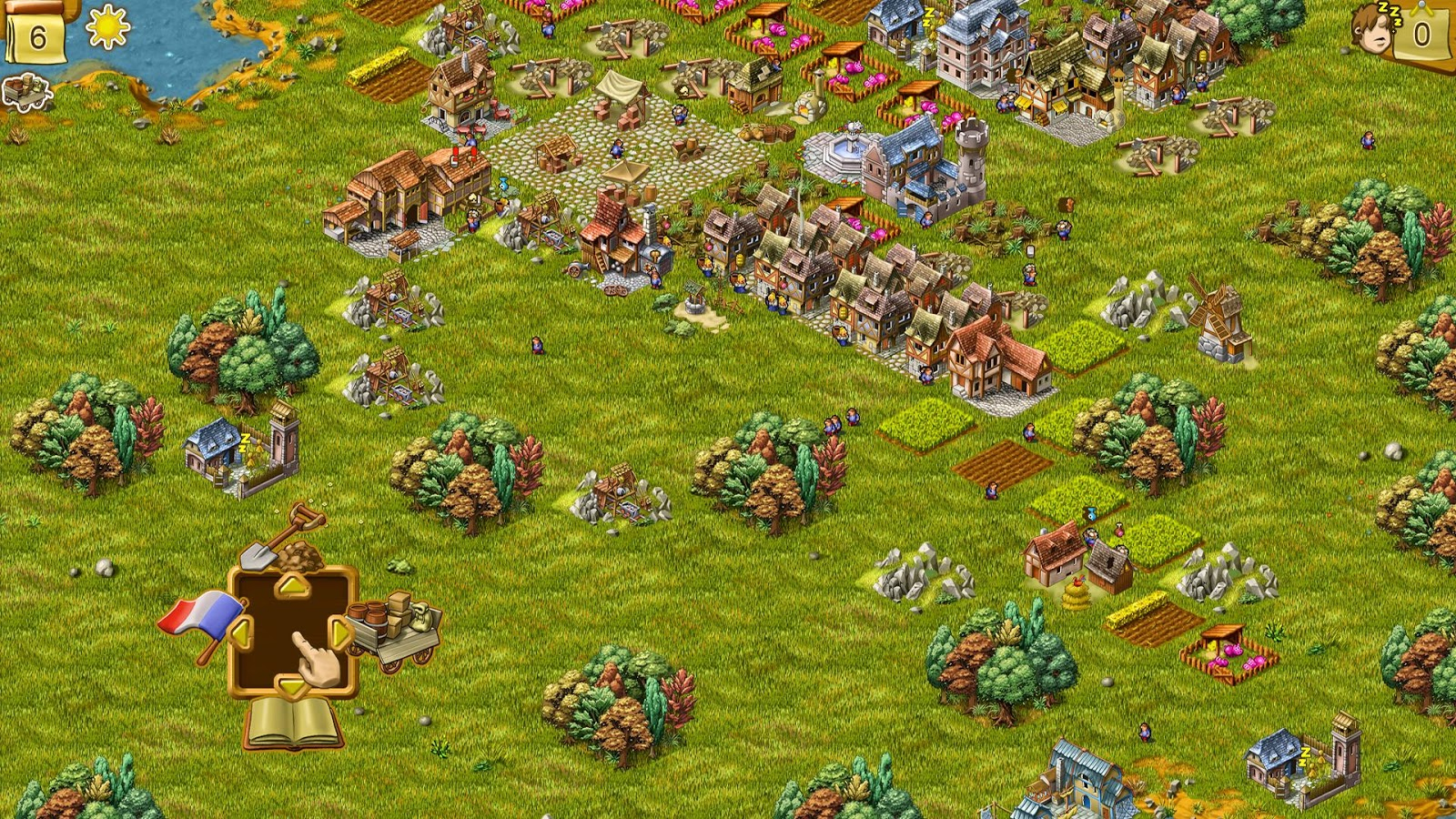 Townsmen 6 FREE- screenshot