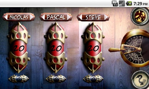 Steampunk MTG Donate screenshot