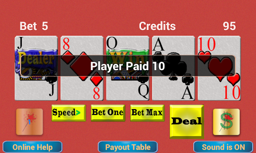 TouchPlay Deuces Wild Poker - Google Play for Work의 Android 앱 - 웹