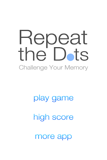Repeat the Dots