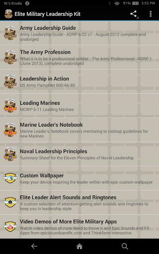 Elite Military Leadership Kit