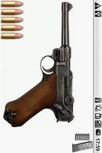 Luger P08 Gun - screenshot thumbnail