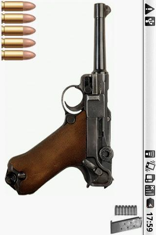 Luger P08 Gun - screenshot