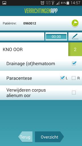 【免費醫療App】Verrichtingen App-APP點子