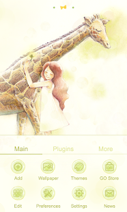 Hello,Giraffe Launcher Theme - screenshot thumbnail