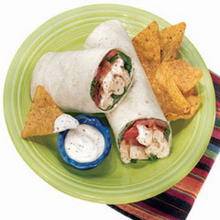 Chicken Ranch Wraps.