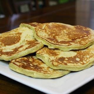 Banana Protein Pancakes.