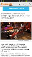 Screenshot of Dziennik Łódzki