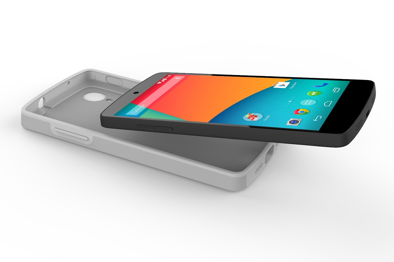 Nexus 5 Bumper Case (Gray) - screenshot