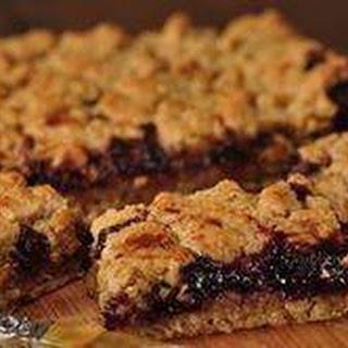 Raspberry Oatmeal Squares Recipe & Video