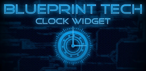 Blueprint tech clock widget apps on google play malvernweather Image collections