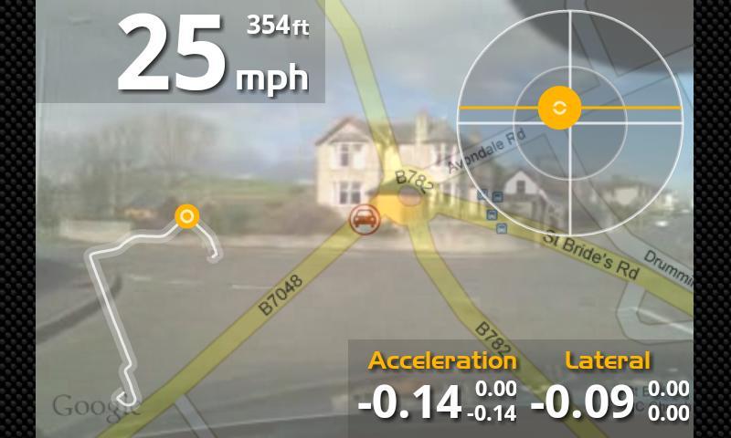 aLapRecorder- screenshot