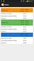 Screenshot of MetroApp
