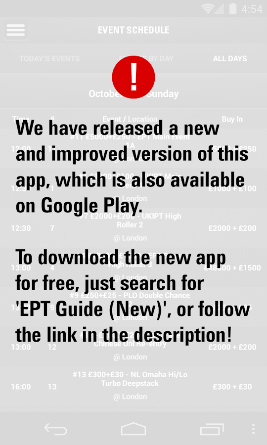 EPT Guide - screenshot