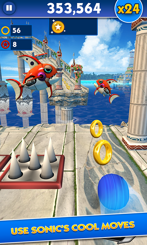 Sonic Dash screenshot #3
