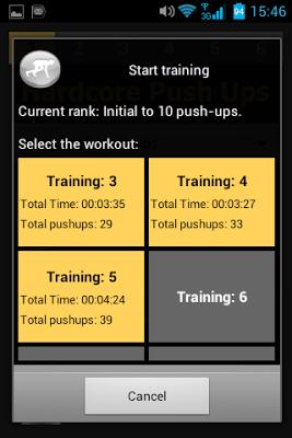 Hardcore Push Ups - screenshot