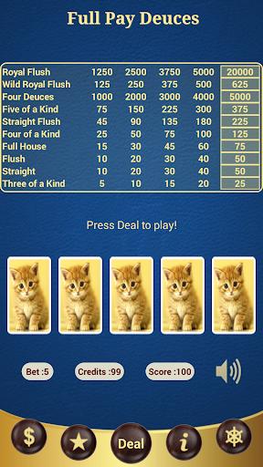 Full Pay Deuces Poker